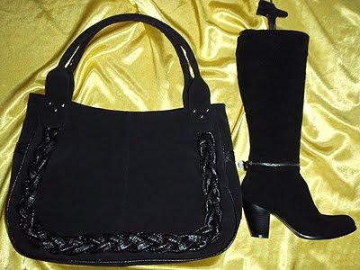 комплект чанта и ботуши