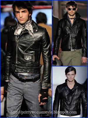 мъжко рокерско яке