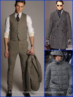 мъжки костюми от туид