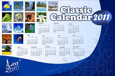 Classic Calendar 2011