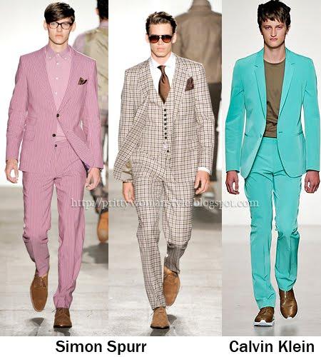 ярки мъжки костюми 2011