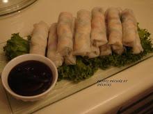 Rouleaux de Printemps Vietnamiens et sa sauce