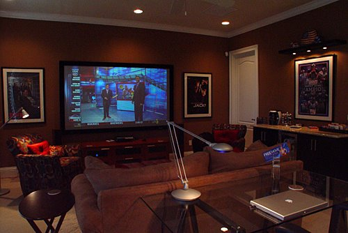 DIY Media Room Home Theater