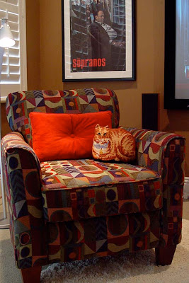 DIY Home Theater Media Room club chairs