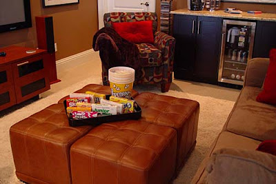 DIY Home Theater Media Room seating