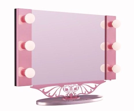 Vanity Girl Lighted Mirror : Indian Vanity Case: This Will Complete My Life (ok maybe just my Vanity Room) =)