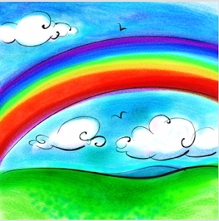 rainbow drawing