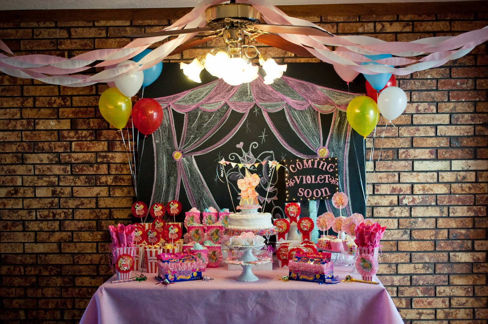 little cuppie cakes circus baby shower