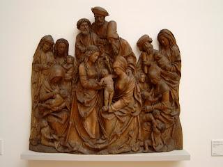 Hans Thomann: Heilige Familie, ca 1515, Lindenhout