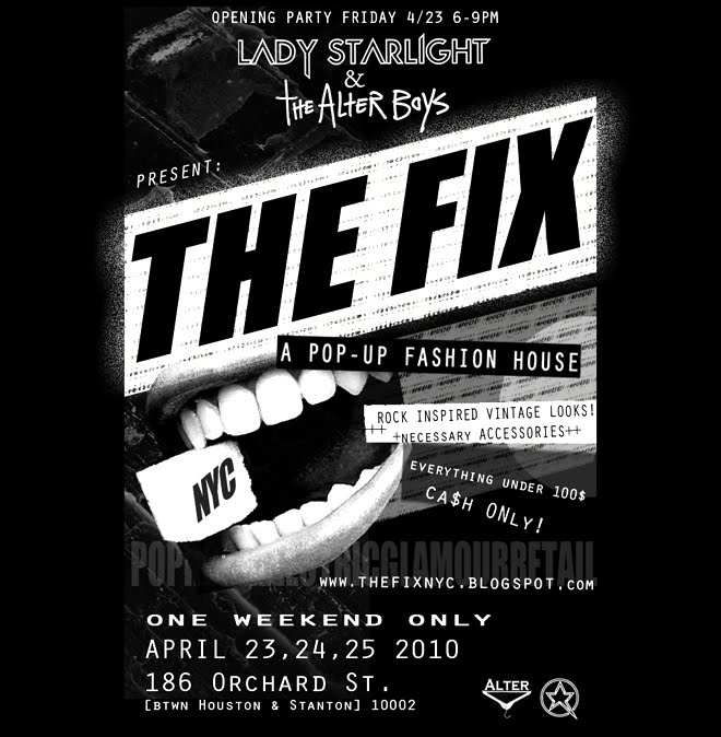 LADY STARLIGHT & THE ALTER BOYS PRESENT: THE FIX