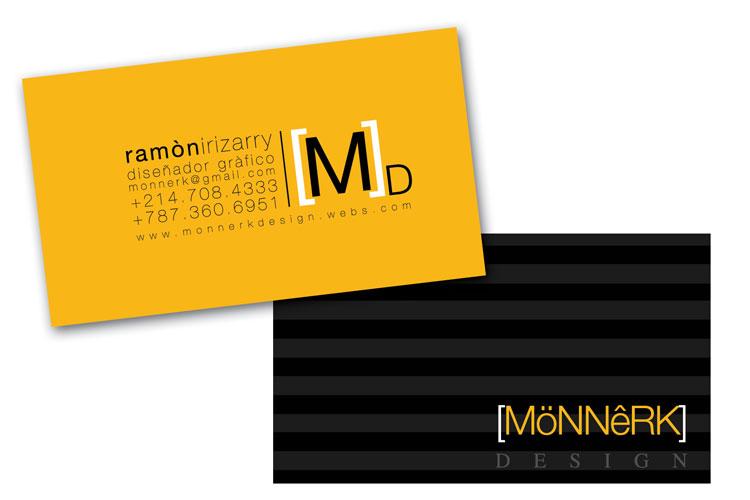 Monnerk design 2010 new biz cards guaynabo pr reheart Choice Image