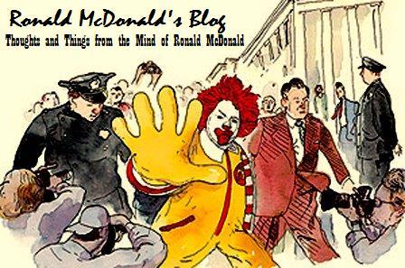 Ronald McDonald's Blog