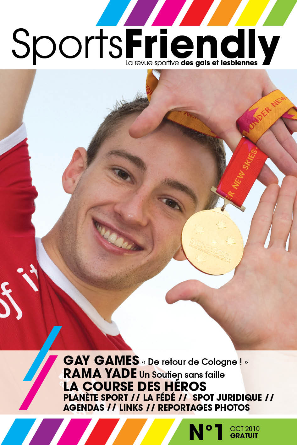 SportsFriendly is a new Paris-based quarterly magazine devoted to LGBT sport ...