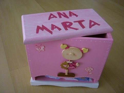 A caixinha das fraldas da Ana Marta