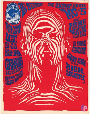 13th Floor Elevators Spaceman Poster