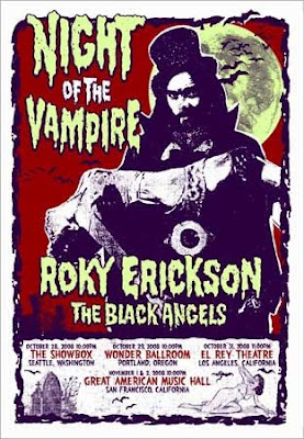 Roky Erickson & the Black Angels Night of the Vampire