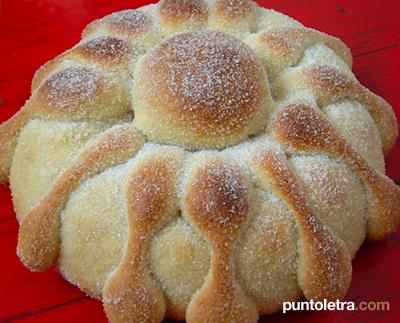 Pan De Muerto Les presento al pan de muerto,