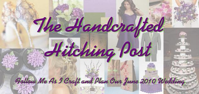 Handcrafted Hitching Post