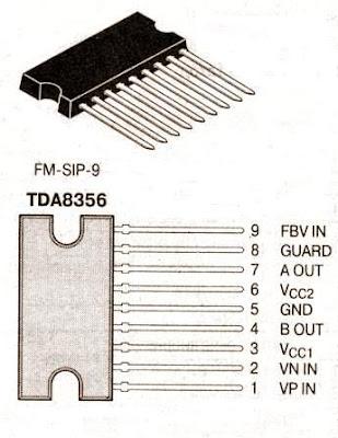 Цоколевка TDA8356