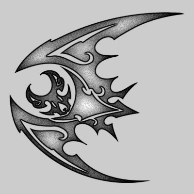 You can DOWNLOAD this Bat Tattoo Design - TATRBA24