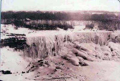 beku6 Bekunya Air Terjun Niagara Tahun 1911