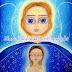 Arcángel Miguel con trabajador de la luz / Angel del rayo Rosa
