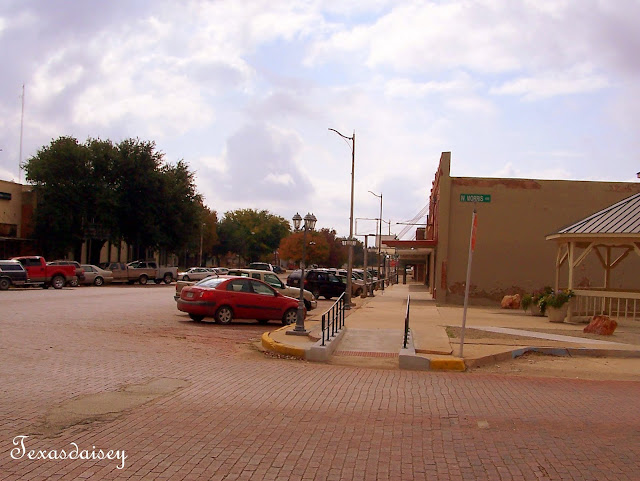 Downtown area of Seymour Texas