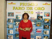 PREMIO FARO DE ORO 2010