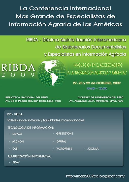 Ribda 2009 - Lima, Perú