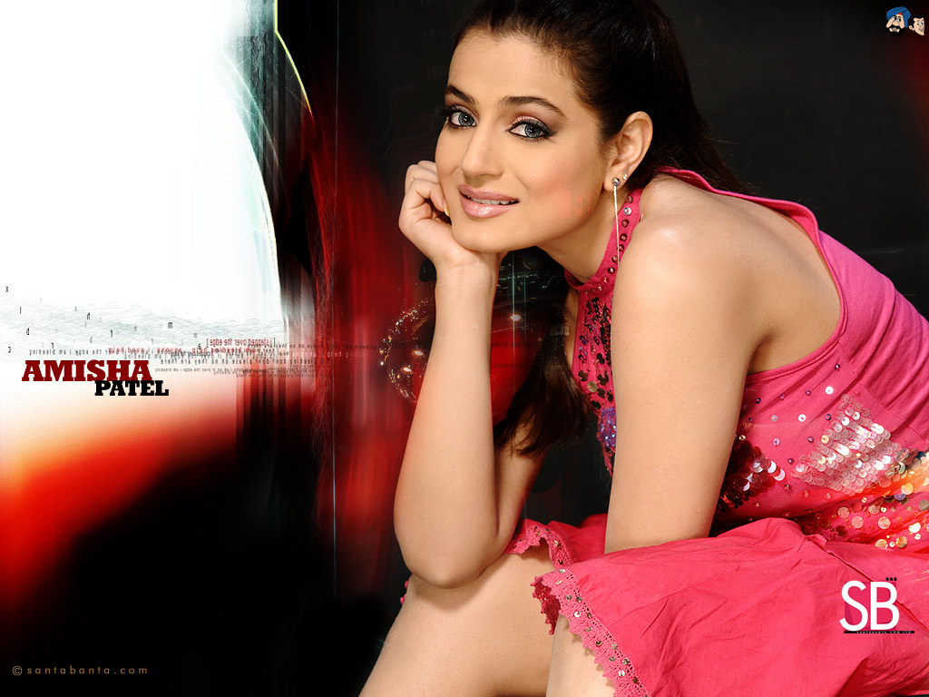 all latest wallpapers: amisha patel hot wallpapers