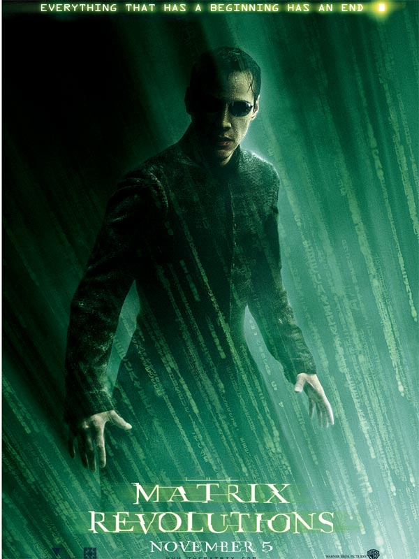 Matrix 3 : Revolutions affiche