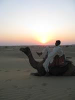 Sunset, Sam Sand Dunes, Jaisalmer, Rajasthan