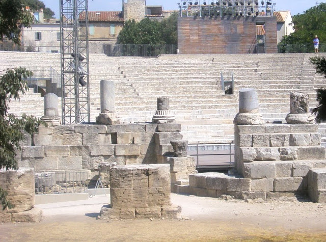 Arles: Roman Ruins/ Antique Theatre