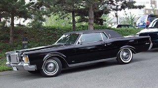 classic car hot 1970 Lincoln Continental