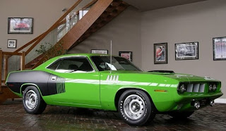 wallpaper car hot 1971 Plymouth HEMI Cuda
