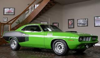 wallpaper car hot 1971 Plymouth HEMI Cuda