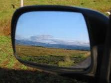 Cara mengatur cermin pada mobil dengan benar
