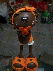 Bebê Afro de Chupeta