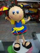 Fofucha dançarina de frevo