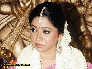 Bride Aarthi.