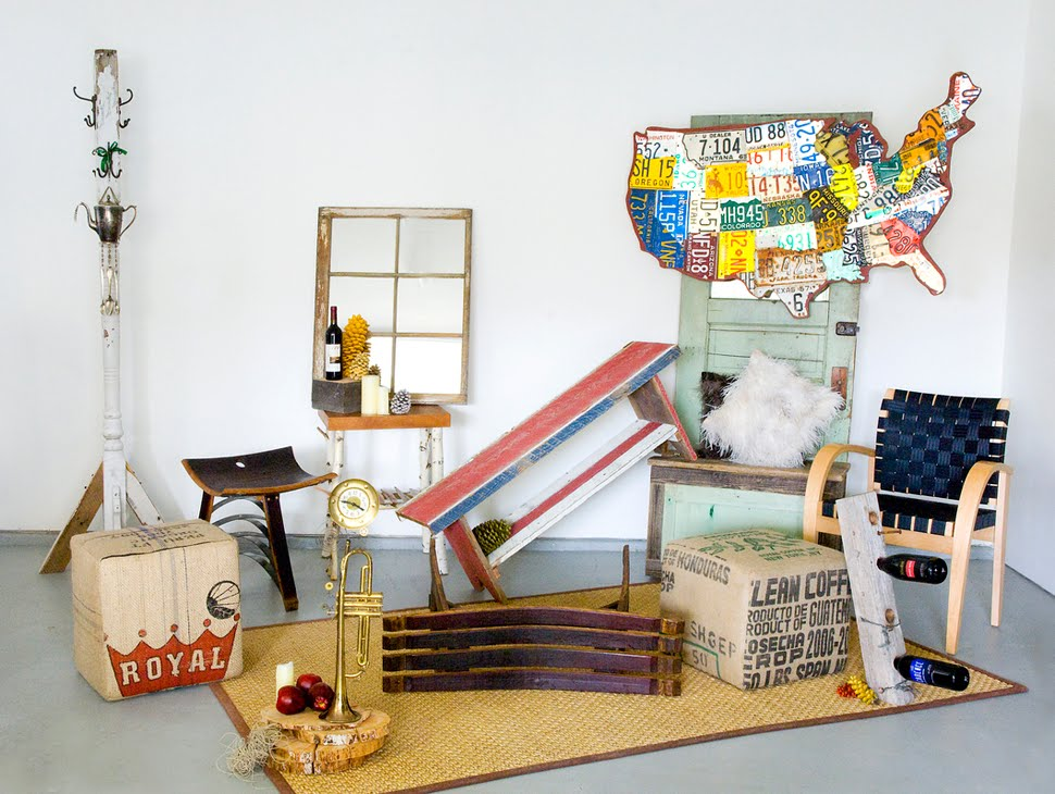 Idaho sarah upcycled decor in habitat for Decoration habitat