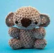 Amigurumi Koala Free : Free Amigurumi Patterns: Cuddly Koala