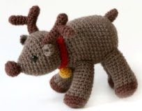 Baby Winter Hats: Crochet Reindeer Chin Strap Hat - ShopWiki