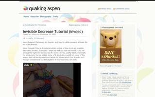 Invisible Increase For Amigurumi : Free Amigurumi Patterns: Invisible Decrease Crochet Stitch