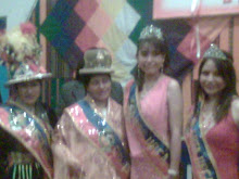 La Belleza y juventud de la UPEA representada por cuatro señoritas