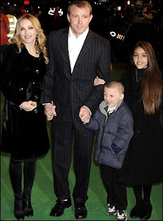 Madonna and kids at a premiere