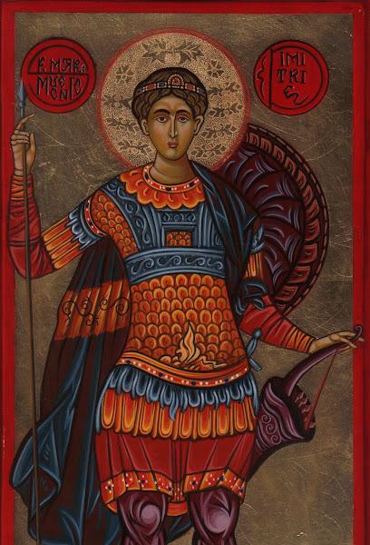 Sf. Dimitrie (lemn)
