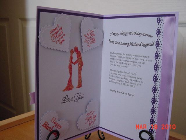Nita S World Handmade Happy Birthday To Denise