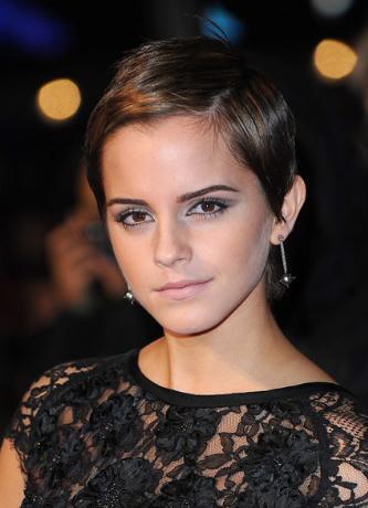 emma watson short hair 2011. 2011 hot emma watson short
