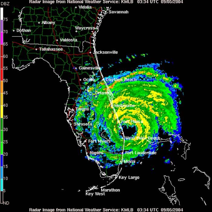 Radar Map Florida.Doppler Radar Channel 8 Florida Cinemas 93